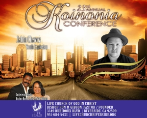 Image of 2018 Koinonia Conference - Jabin Chavez - DVD