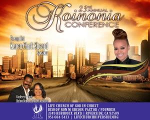 Image of 2018 Koinonia Conference - Evangelist Karen Clark-Sheard - DVD