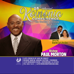 Image of DVD - Bishop Paul Morton (Koinonia 2019)