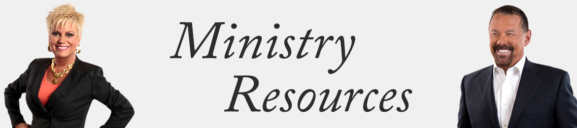Ministry Resources Banner
