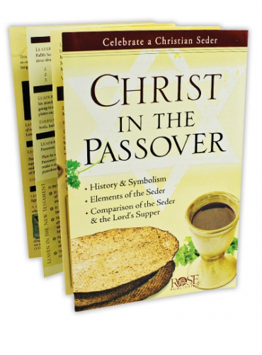 Image of Christ in the Passover Booklet