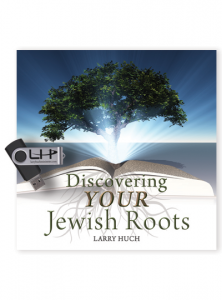 Image of Discovering Your Jewish Roots USB drive with 45 Messages by Pastor Larry Huch