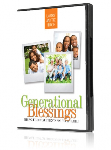 Image of Generational Blessings - Miracle Grow Nutrients for Your Family 4-CD Set