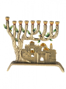Image of Jerusalem Old City Chanukah Menorah