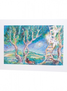 Image of Jacob's Ladder, 11 X 14 Fine Art Reproduction Print