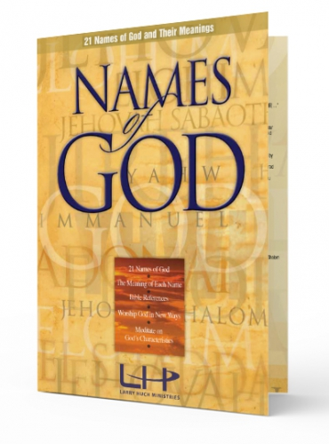 Image of Names of God Fold Out Study Booklet