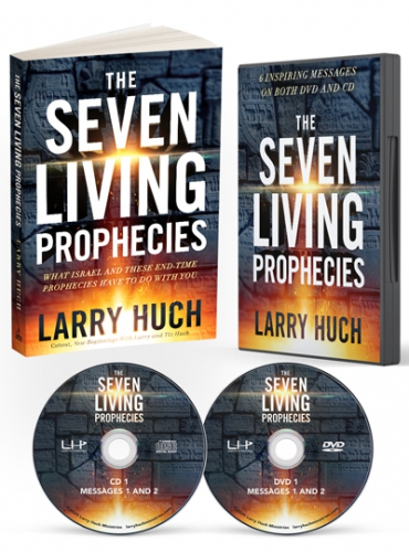 Image of Seven Living Prophecies Book, CD and DVD set