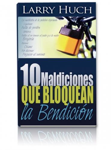 Image of 10 Maldiciones Que Bloquean La Bendicion Libro
