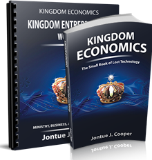 Image of Kingdom Economics: The Small Book of Lost Technology BookJontue Cooper
