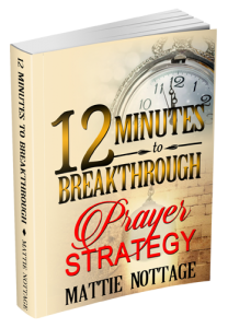 Image of 12 Minutes to Breakthrough Prayer Strategy by Mattie Nottage