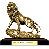 Image of Bronze Lion Statue