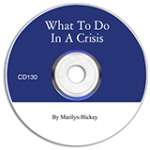 Image of What To Do In A Crisis CD