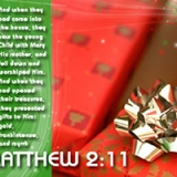 Image of Matthew 2:11 - Merry Christmas