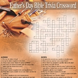 Image of Father's Day Crossword Puzzle