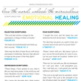 Image of Emotional Healing Scriptures