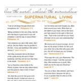 Image of Supernatural Living Scriptures