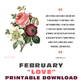 Image of Printable Download - Love