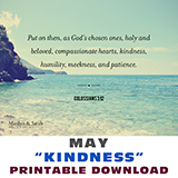 Image of Printable Download - Kindness