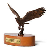 Image of Bronze Sculpture Eagle
