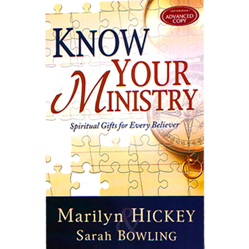 In Know Your Ministry: Spiritual Gifts for Every Believer, Marilyn explains the seven foundational gifts of the Holy Spirit, also known as motivational ...