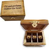 Image of Olivewood Anointing Oil set