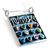 Image of Twelve Tribes of Israel Necklace