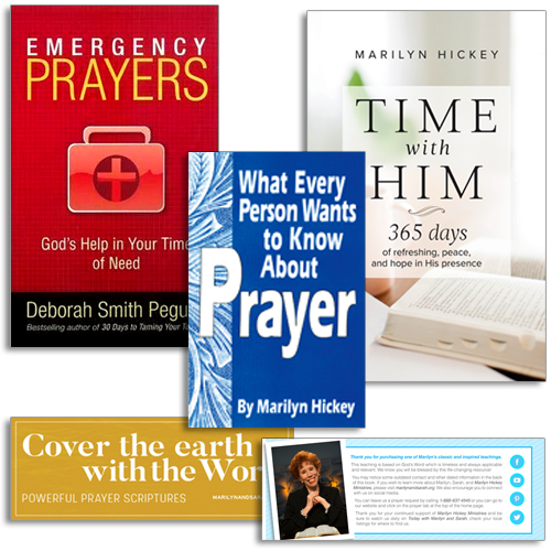 Emergency Prayers Pack | Marilyn Hickey Ministries