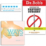 Image of Dr. Bob DeMaria - Prevent Surgery Pack