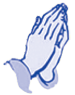 Image of praying hands.