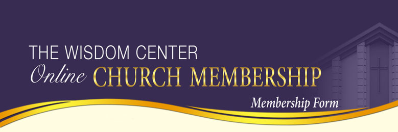 Online Church Membership header