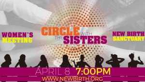 Image of CIRCLE WITH THE SISTERS WOMEN'S MEETING -