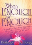 Image of When Enough Is Enough DVD