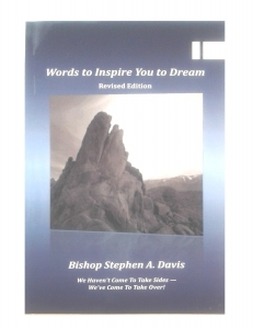 Image of WORDS to Inspire You to Dream BOOK by Bishop Stephen A. Davis