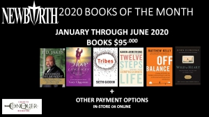 Image of New Birth's 2020 Books of the Month (January through June) for $95.00