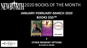 Image of New Birth's 2020 Books of the Month - 1ST QUARTER (January, February, March 2020) for only $50.00