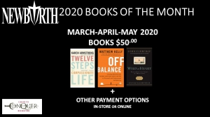 Image of New Birth's 2020 Books of the Month - 2ND QUARTER (April, May, June 2020) for only $50.00