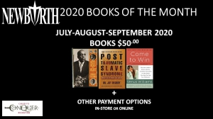Image of New Birth's 2020 Books of the Month - 3RD QUARTER (July, August, September 2020) for only $50.00