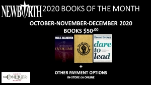 Image of New Birth's 2020 Books of the Month - 4TH QUARTER (October, November, December 2020) for only $50.00