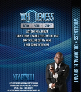 Image of MP4WHOLENESS: I'm Not Feeling Like Myself - MP4 SERIES by Dr. Jamal Harrison Bryant.