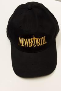 Image of NEW BIRTH HAT - BLACK W/ GOLD LOGO