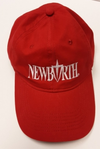 Image of NEW BIRTH HAT - RED W/ WHITE LOGO