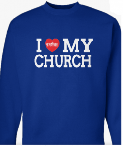 Image of I Heart My Church Sweatshirt