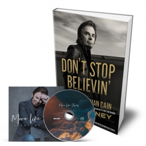 Image of Dont Stop Believin and More Like Jesus Pk