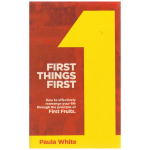 Image of First Things First Book
