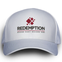 Image of Redemption Ball Cap White