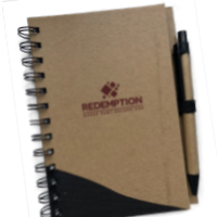 Image of Redemption Journals with Pen
