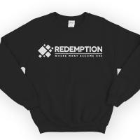 Image of Redemption Sweatshirt Black Large