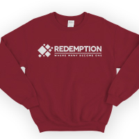 Image of Redemption Sweatshirt Red Large