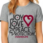 Image of Joy Love Peace Protection (XX Large)