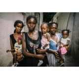 Image of Wall Art of Angola Babies and Mothers 16X20